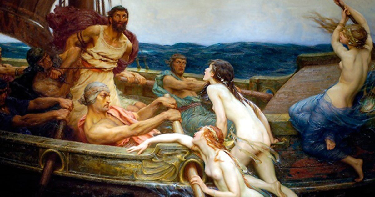 siren greek mythology definition