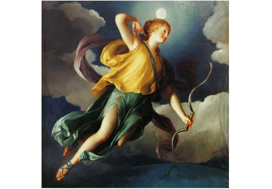 Selene (also Diana) as Personification of the Night. 1765.