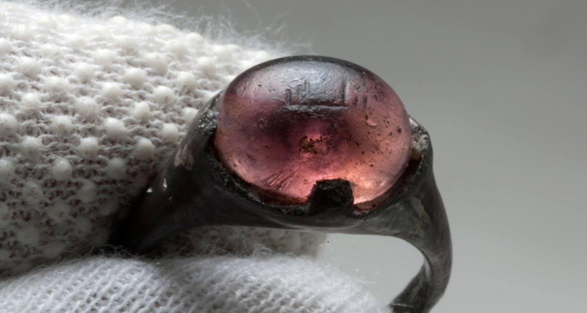 Seljuk ring discovered in Viking-era grave