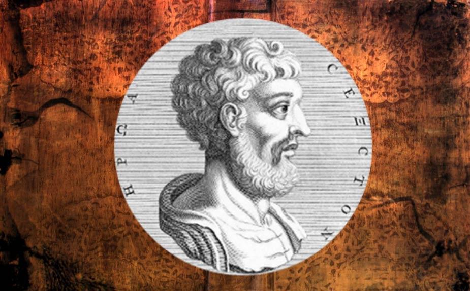 A depiction of Sextus Empiricus.