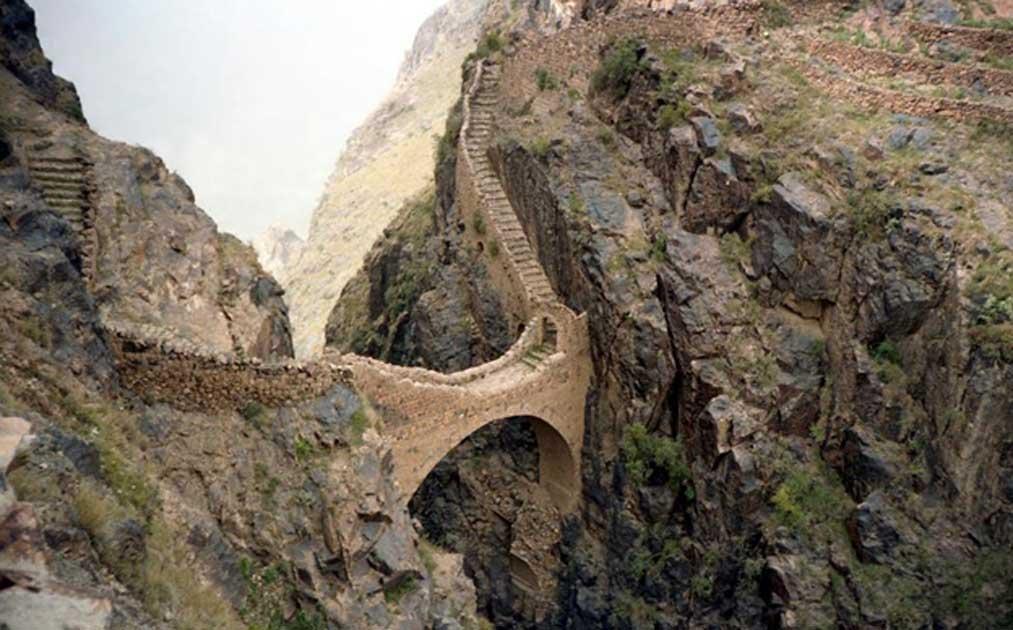 How to Prevent an Invasion? Build a Bridge! The Shaharah Bridge in Yemen, a Bridge of Sighs