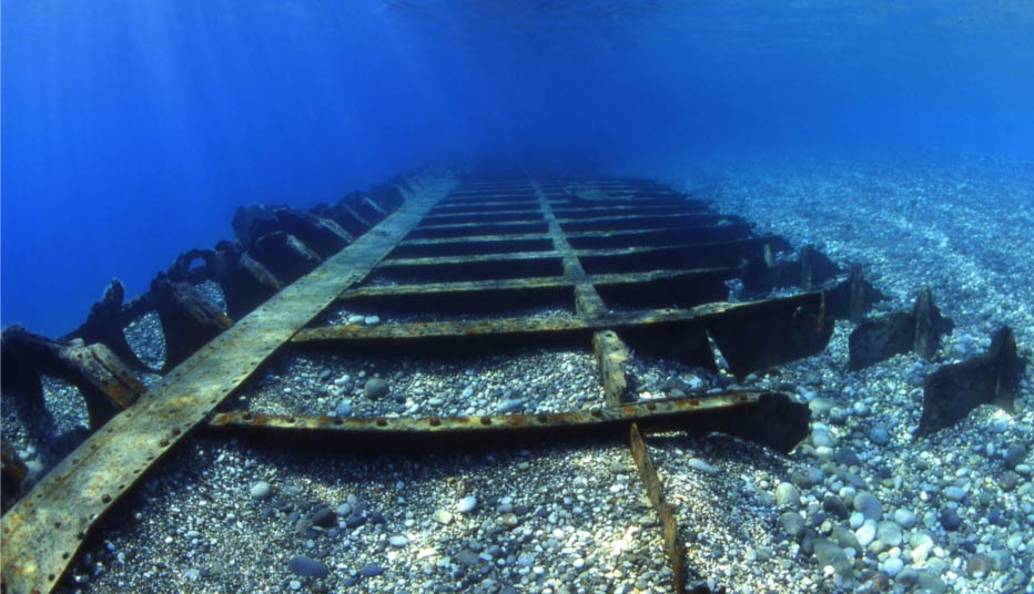 Shallow shipwreck found in Turkey waters