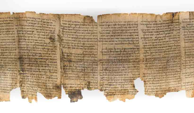 "Like the Dead Sea Scrolls pictured here, the Shapira scroll (and remember the original fragments have ""disappeared""!) has both its champions and sceptical experts who doubt key details in the ""story."""