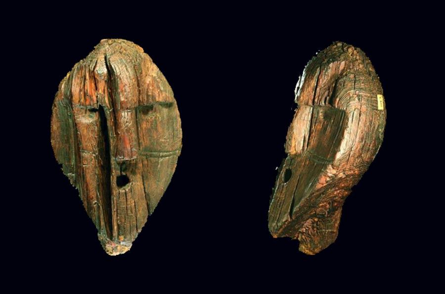 The Shigir Idol head