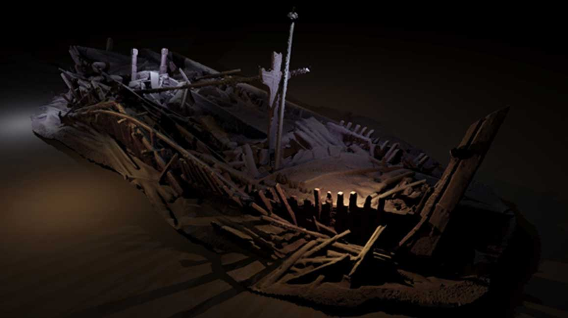 Rare Collection of Over 40 Shipwrecks Revealed in Mapping of Black Sea Landscape