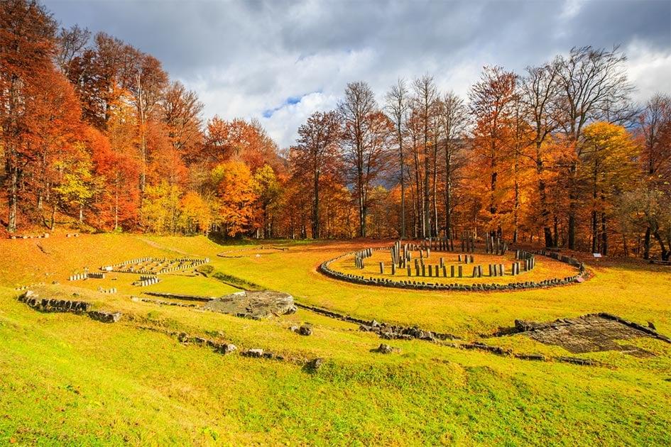 Sarmizegetusa Regia, Romania. Dacian Fortress ruins.           Source: emperorcosar/ Adobe Stock