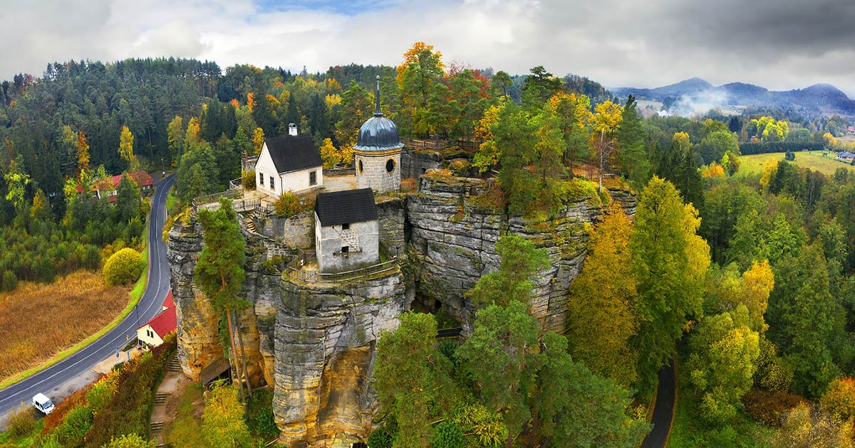 Sloup Castle: Bohemia's Salt Trade Defense, Hermitage and Tourist Spot