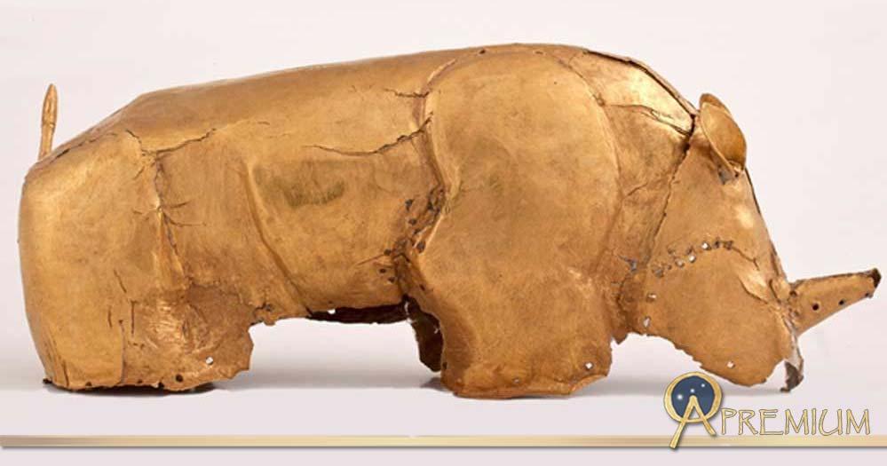 The Mapungubwe Gold Rhinoceros