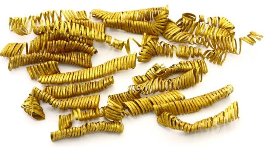 Spirals of Golden Thread Uncovered in Denmark