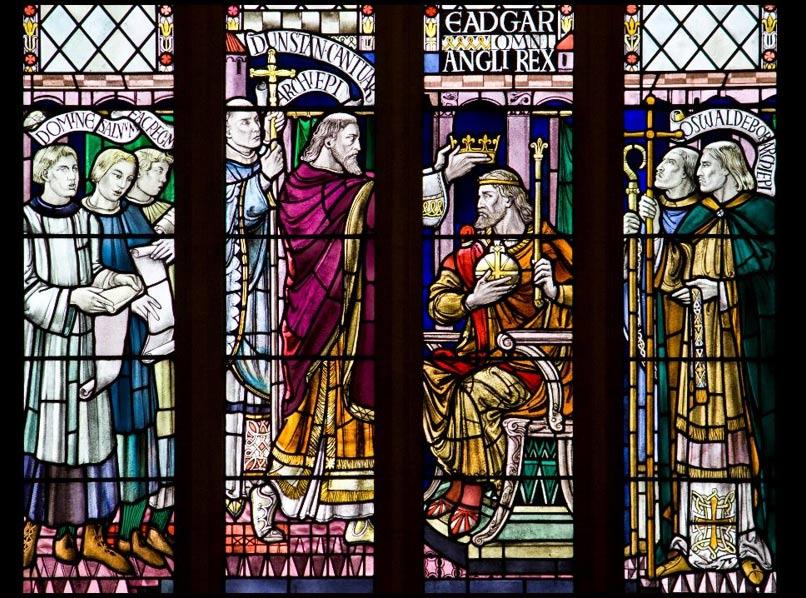 St Dunstan crowns King Edgar