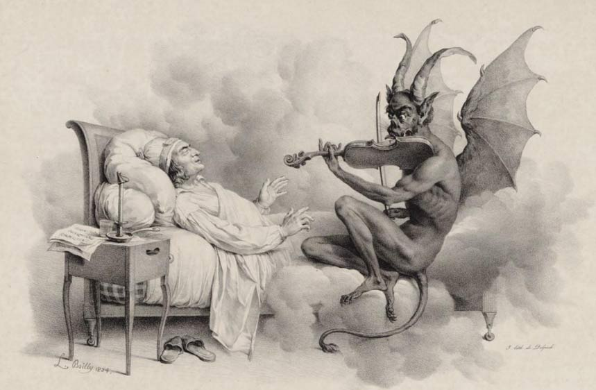 """""""Tartini's Dream"""" by Louis-Léopold Boilly"""