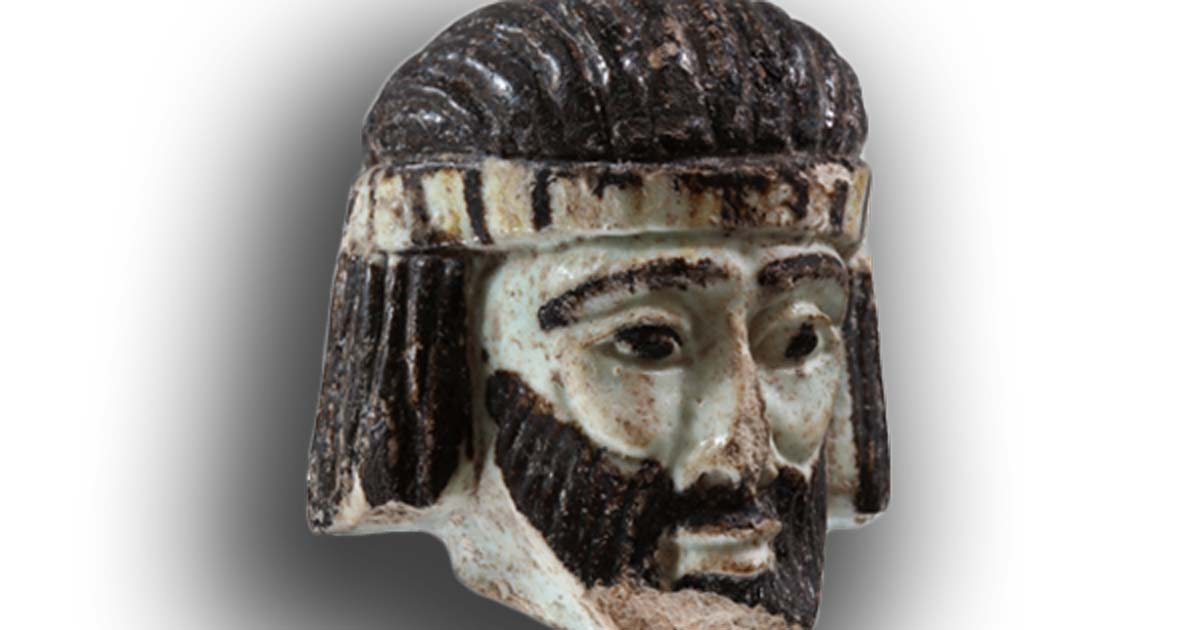 Archaeologists believe this is the head from a sculpture of an unknown authority figure who lived in Israel 2,800 years ago.
