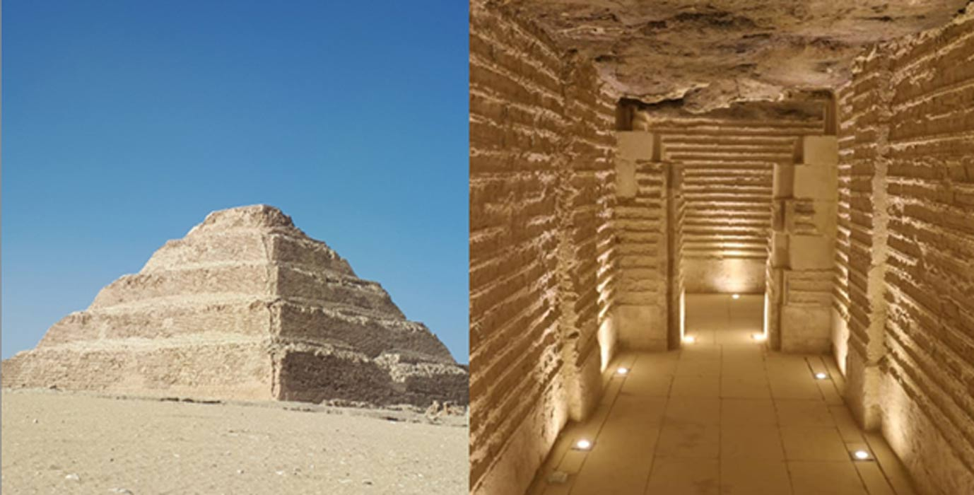 Step Pyramid of Djoser in Saqqara now open