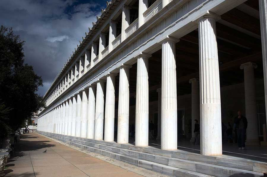 The Stoa of Attalos: Restored Agora of Athens Structure Is Amazing