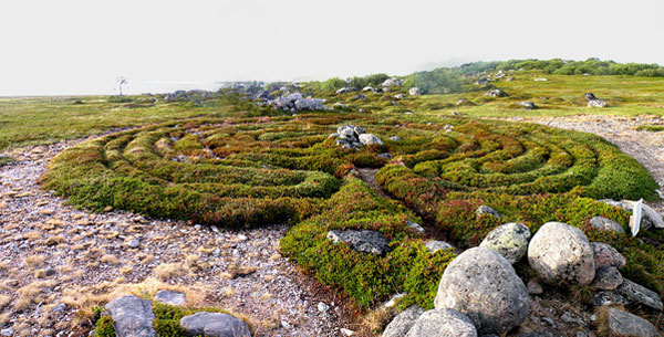 Stone Labyrinths of Bolshoi Zayatsky