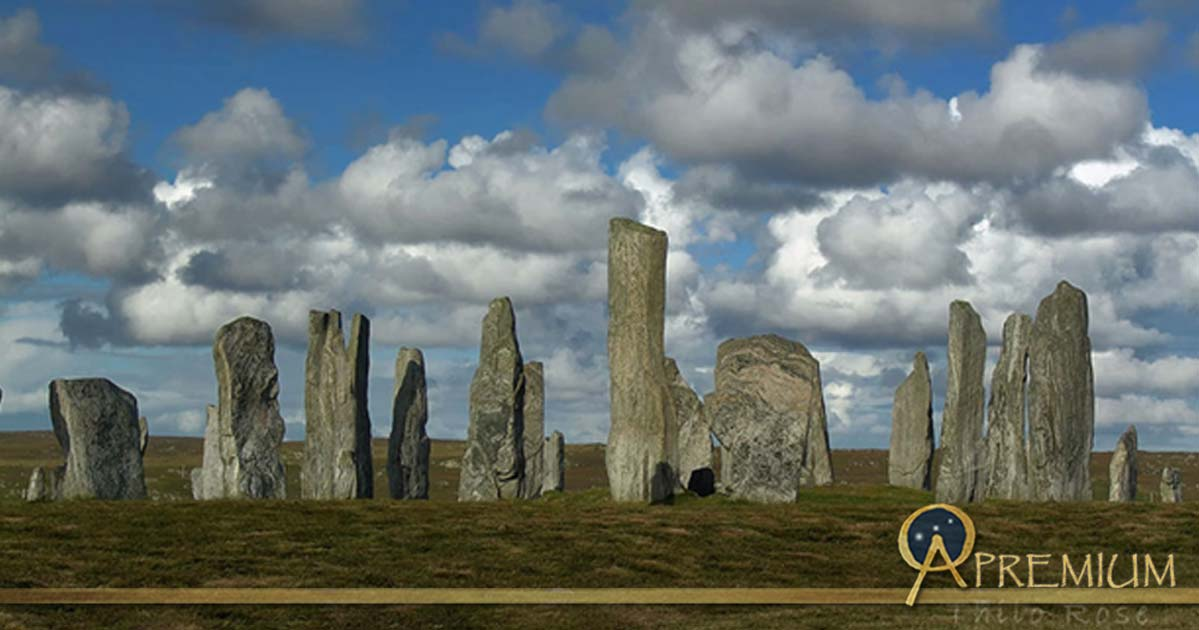The Callanish Stones on the isle of Lewis, Outer Hebrides (Western Isles), Scotland
