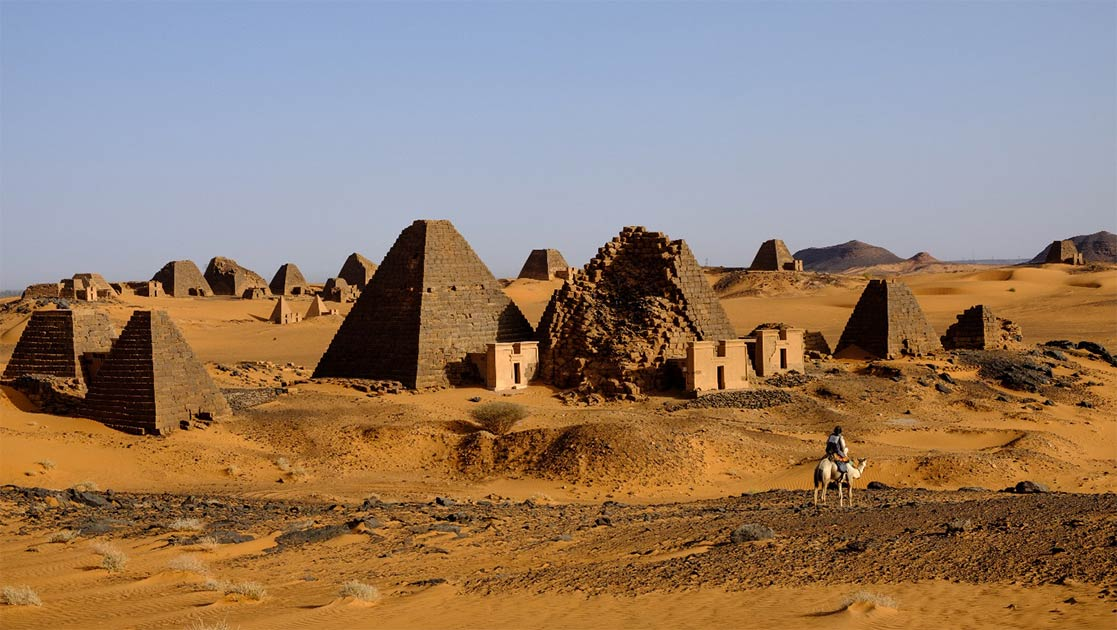 The flooding is threatening the Al-Bajrawiya archaeological site, home to almost two hundred Sudanese pyramids and the ancient burial site of the Kingdom of Kush. Source: zampe238 Adobe Stock