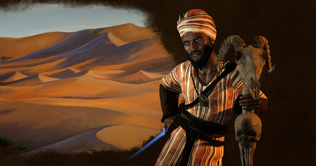 Sundiata Keita, the Lion King of Mali.