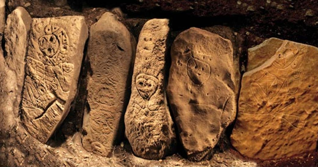 These Taino gods were carved at the Ponce site at least 500 years ago.