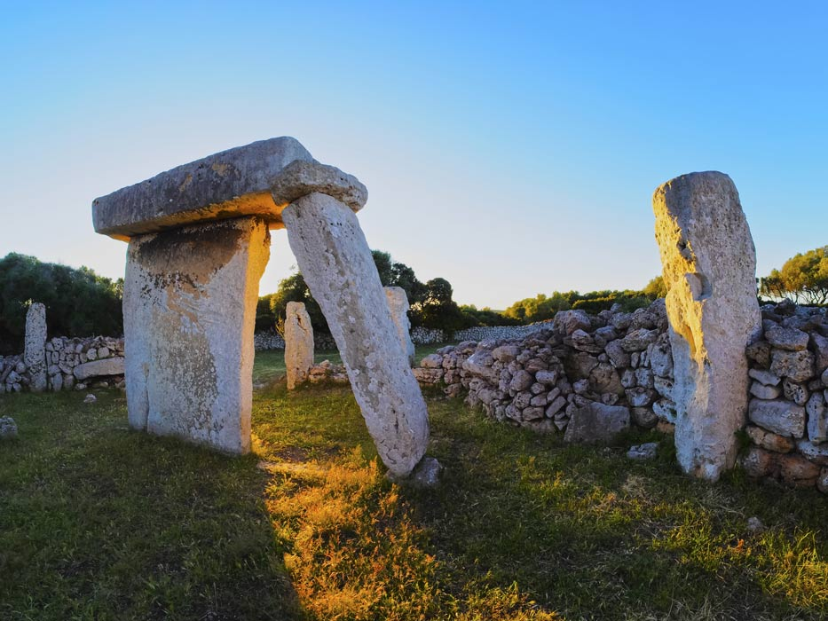 Taulas of Menorca megaliths