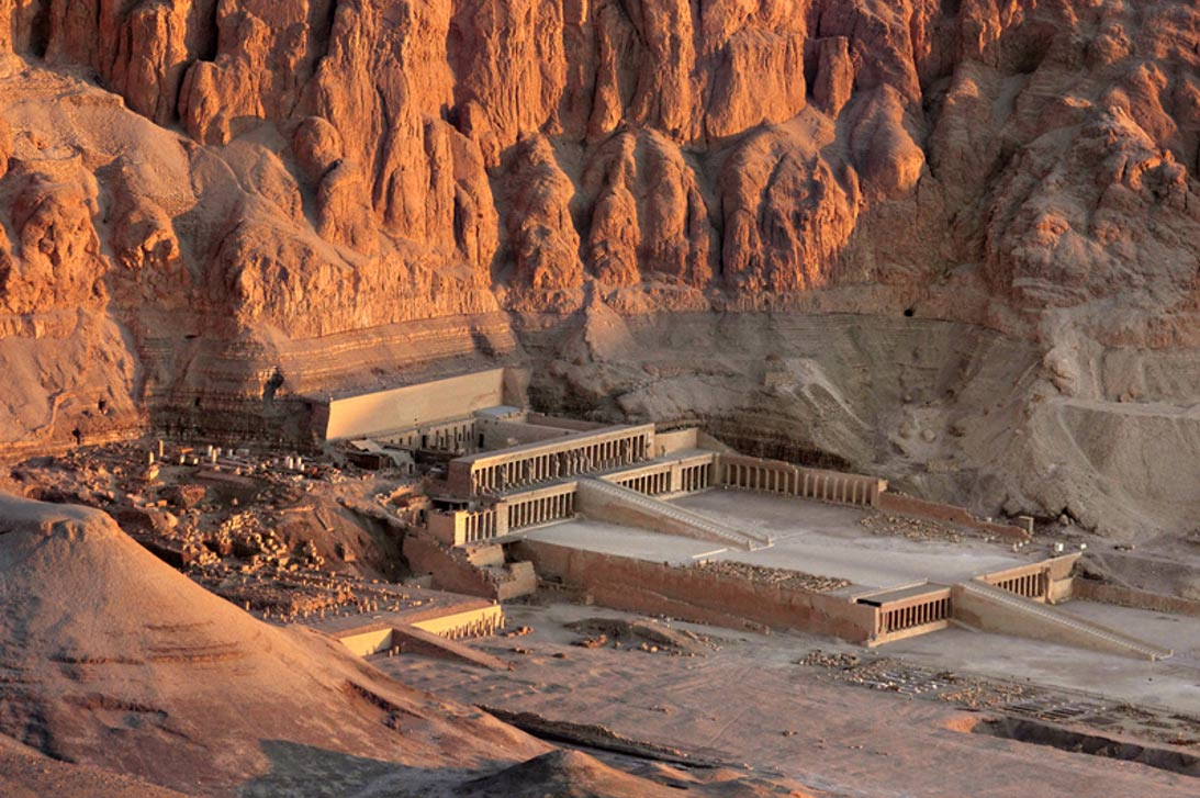 The Mortuary Temple of Hatshepsut at Deir el-Bahri ...