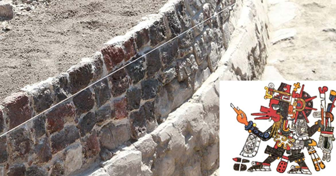 650-Year-Old Temple to Aztec Wind God Unearthed Under Supermarket in Mexico