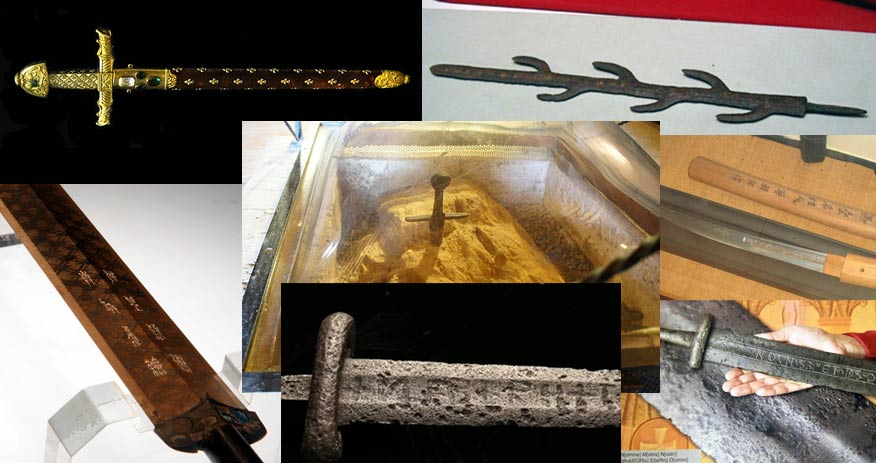 Ten Legendary Swords from the Ancient World