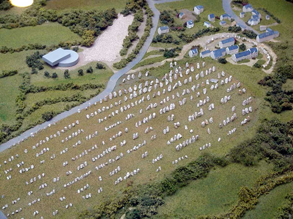 The Carnac Stone Rows