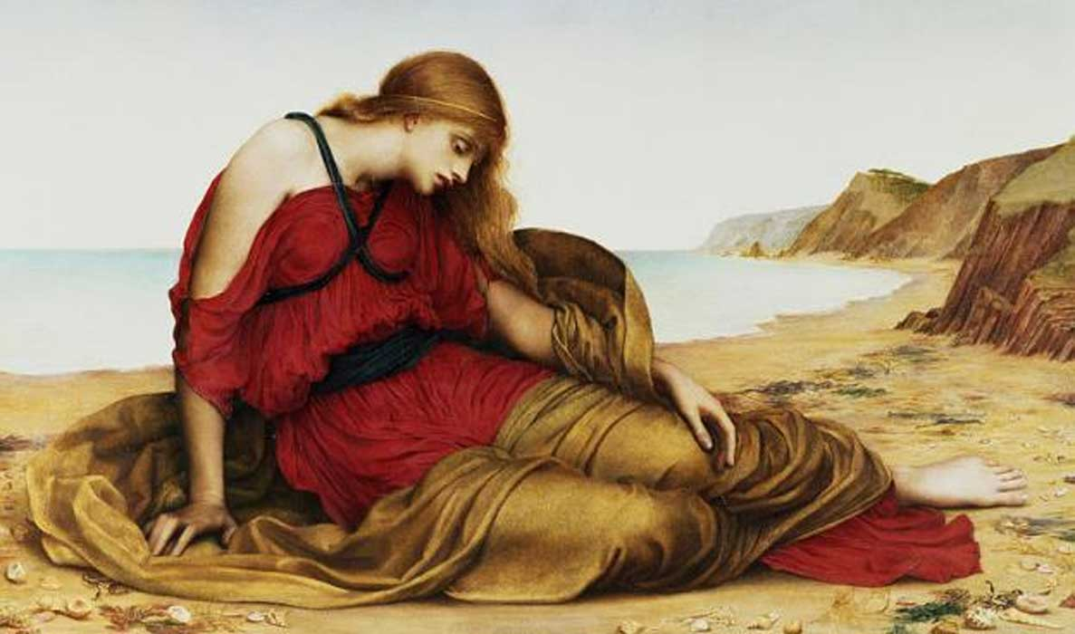 'Ariadne in Naxos' (1877) by Evelyn De Morgan.