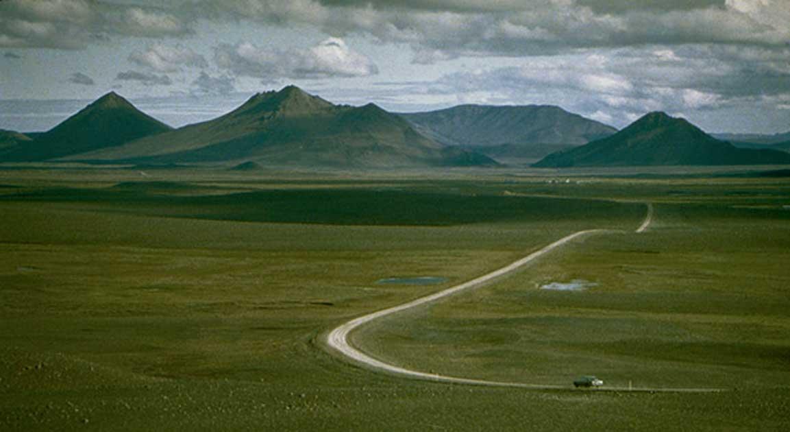 Highland along Kjolur, Iceland