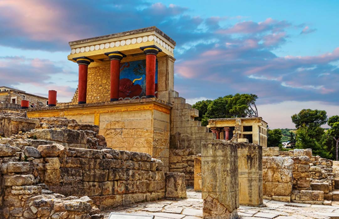 The Palace of Knossos, Crete.