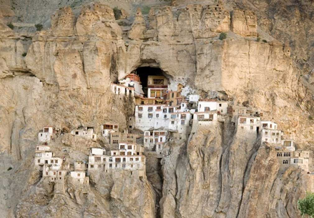 The Phugtal Monastery, India