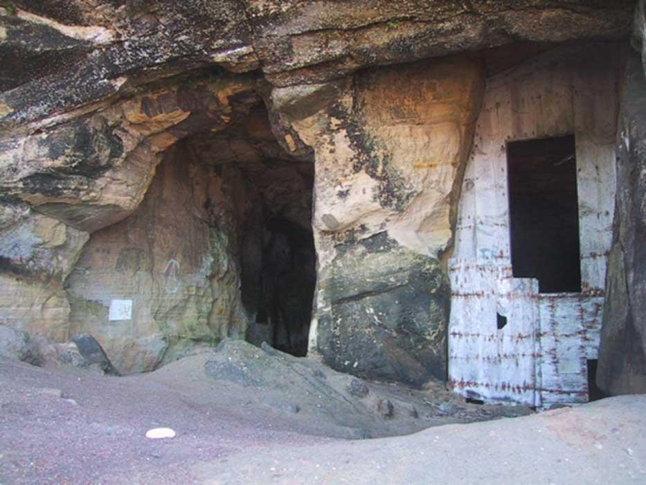 Sculptor's Cave, Covesea, Lossiemouth