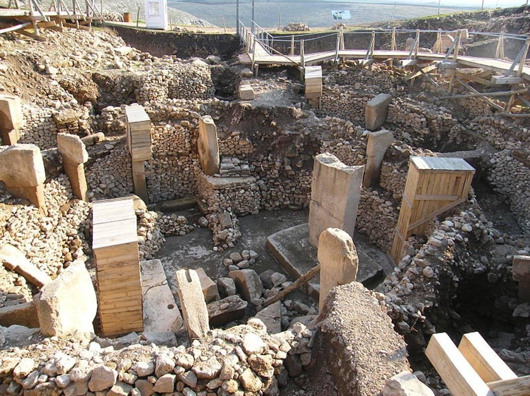 Archaeological site of Göbeklitepe in Turkey