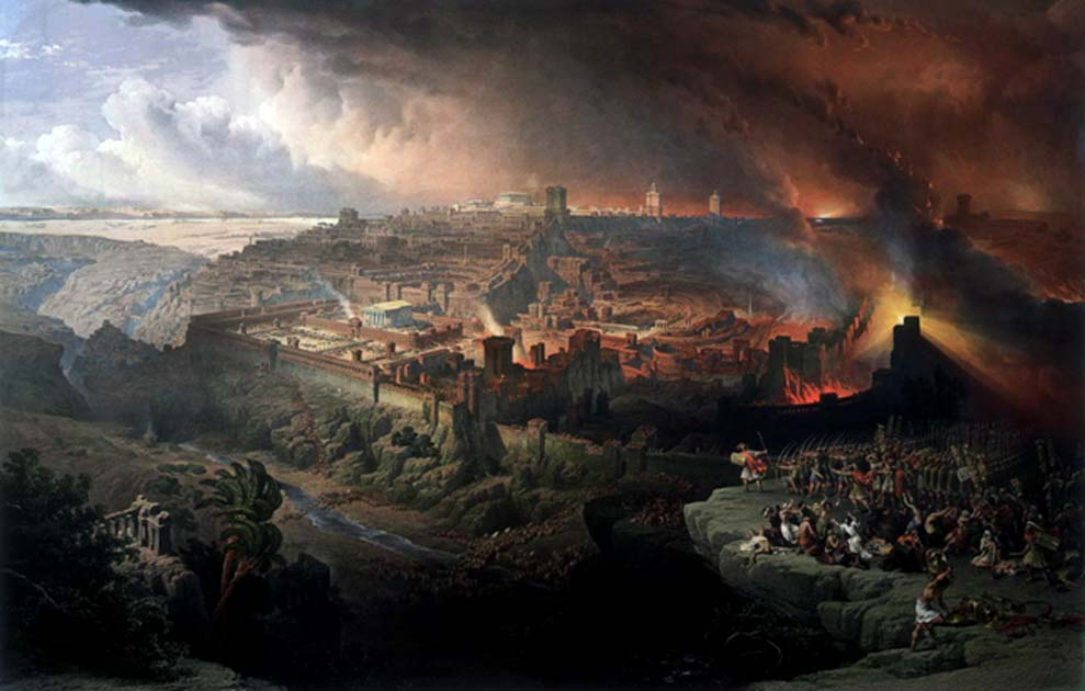 Siege and Destruction of Jerusalem by the Romans