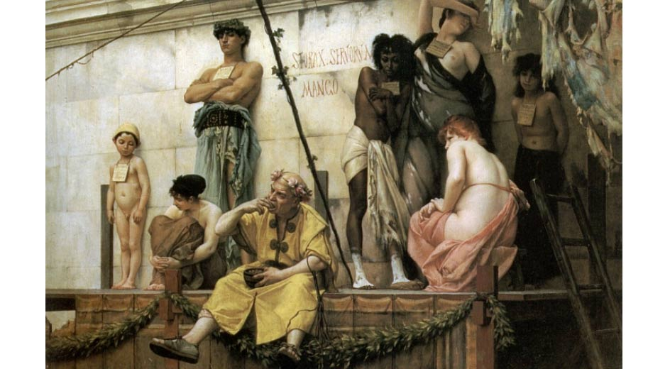 'The Slave Market' (1886) by Gustave Boulanger.