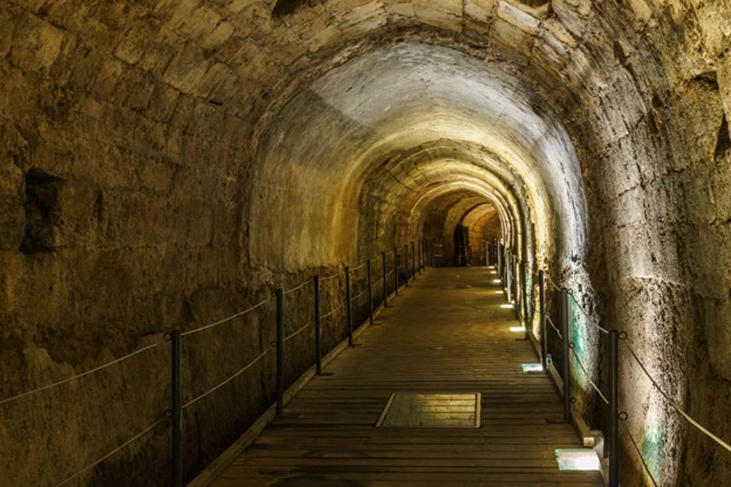 The Templar's Tunnel (olegmayorov / Adobe Stock)