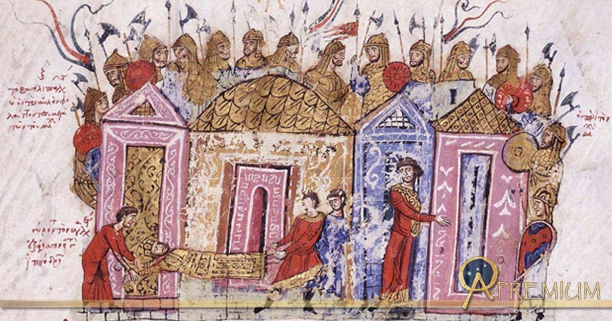 Varangian Guard .Chronicle of John Skylitzes 13th Century