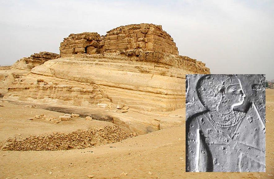 La mastaba de Khentkawes I, Giza, Egipto.