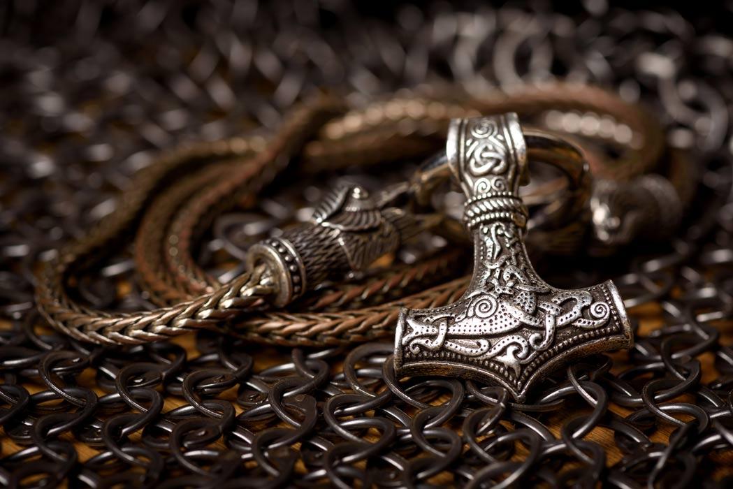 Thor's hammer amulet