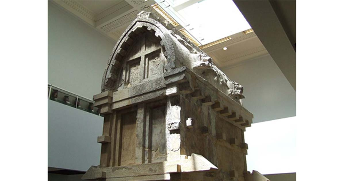 Payava's tomb from Xanthos, now in the British Museum.