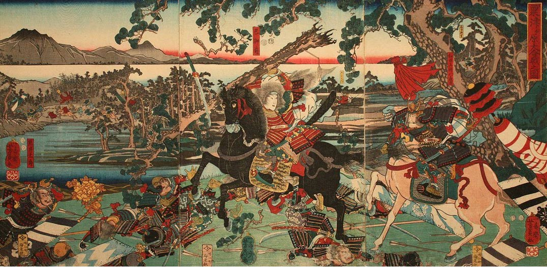 Image result for tomoe gozen battle