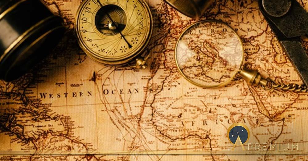 Travel geography navigation concept background. (fotoatelie/ Adobe Stock)