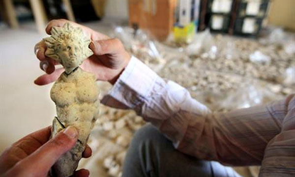 Treasure trove of ancient Phoenician artifacts uncovered in Lebanon