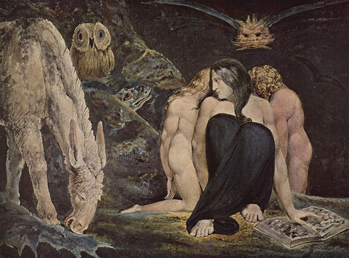 The Triple Hecate, 1795 William Blake.