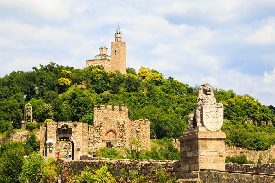 Tsarverets fortress at Veliko Tarnovo, Bulgaria          Source: Ongala/ Adobe Stock