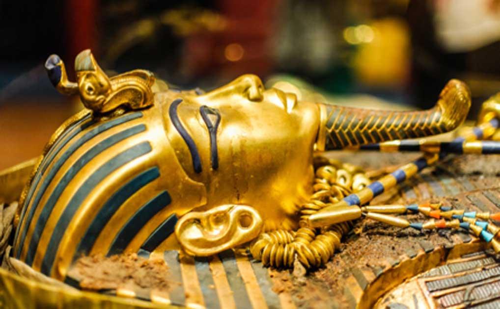 Mask of pharaoh Tutankhamun. Source: Dieter Hawlan / Adobe Stock