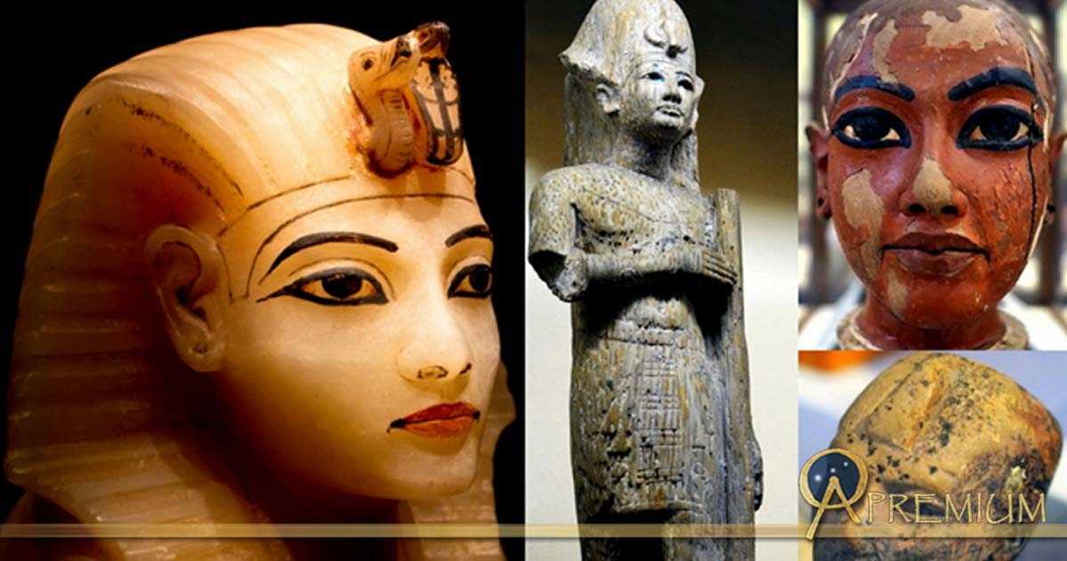 Collection of Egyptian Art, design by Anand Balaji (Photo credits: Heidi Kontkanen, Dave Rudin, and Dmitry Denisenkov); Deriv.