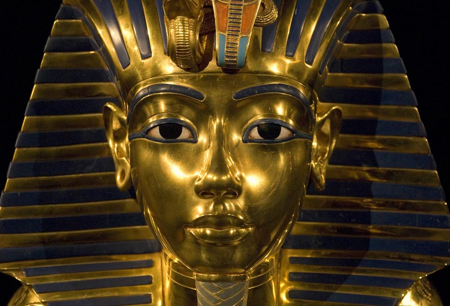 Tutankhamun's death mask