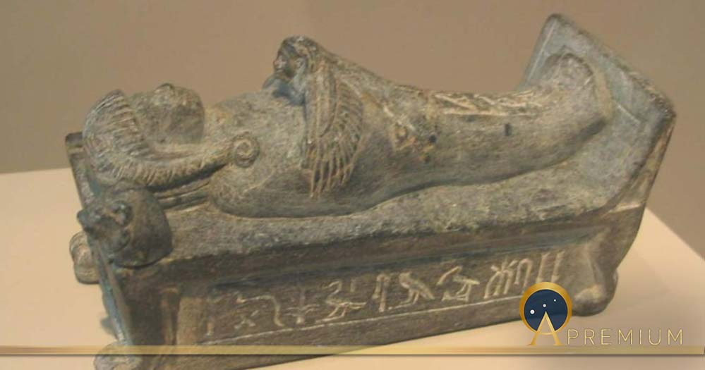 Prince Thutmose's schist recumbent bier (Soutekh67 / CC BY-SA 4.0)